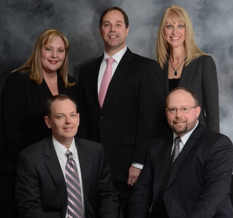 Pictured from top left: Linda Nay, Director of Firm Administration; Richard Crabtree, CPA, PFS, Partner; Lisa Shuneson, CPA, PFS, Partner; Patrick McClary, CPA, Partner; Bruce Berry, CPA, Partner