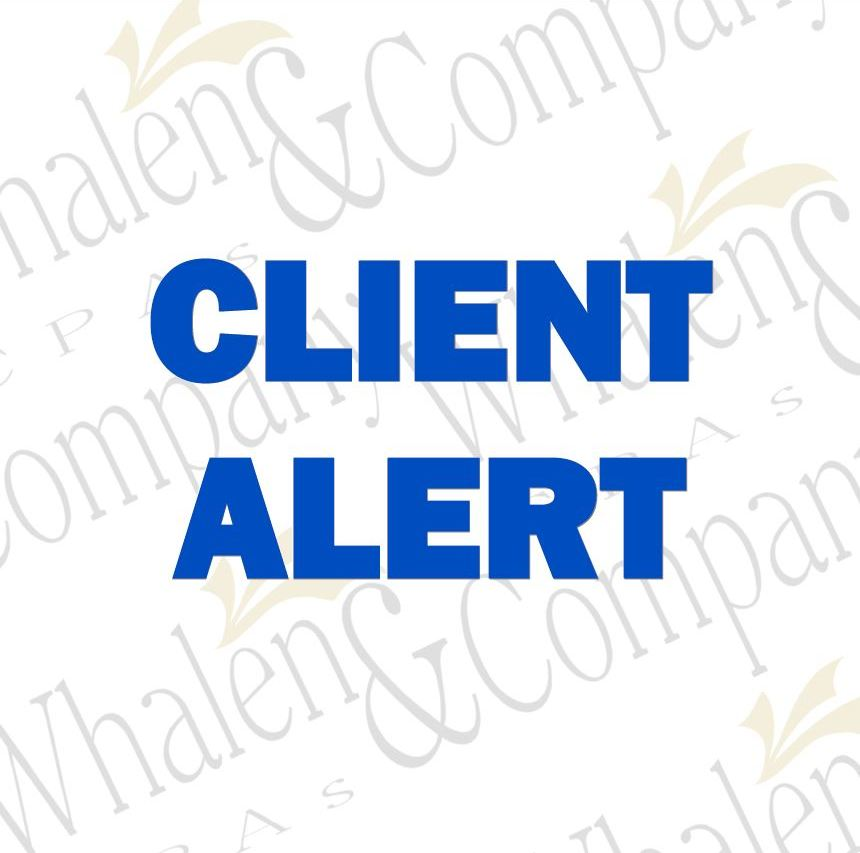 Irs Changes W 2 1099 Filing Deadlines Whalen Company Cpas